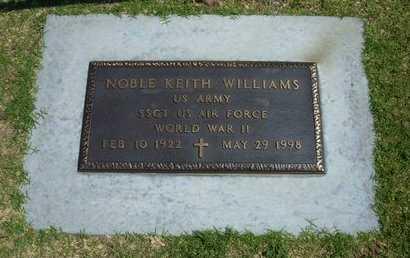 WILLIAMS  , NOBLE KEITH (VETERAN WWII) - Stevens County, Kansas   NOBLE KEITH (VETERAN WWII) WILLIAMS   - Kansas Gravestone Photos