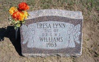 WILLIAMS, TRESA LYNN - Stevens County, Kansas | TRESA LYNN WILLIAMS - Kansas Gravestone Photos