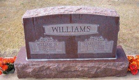 WILLIAMS, HARRIET TALBERT - Stevens County, Kansas | HARRIET TALBERT WILLIAMS - Kansas Gravestone Photos