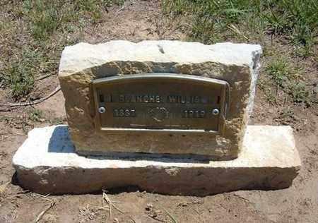 HUTCHINSON WILLIS, BLANCHE EVELYN - Stevens County, Kansas | BLANCHE EVELYN HUTCHINSON WILLIS - Kansas Gravestone Photos