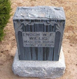 WILLIS, ENOCH W F - Stevens County, Kansas | ENOCH W F WILLIS - Kansas Gravestone Photos
