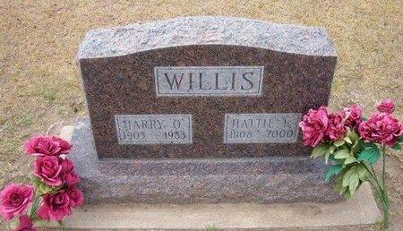 WILLIS, HARRY O - Stevens County, Kansas | HARRY O WILLIS - Kansas Gravestone Photos