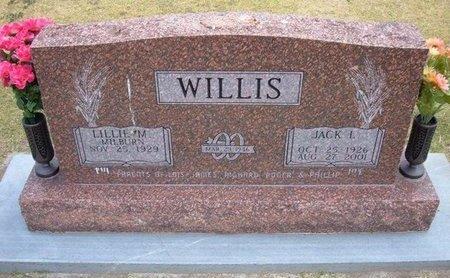 WILLIS, JACK LOWREY - Stevens County, Kansas | JACK LOWREY WILLIS - Kansas Gravestone Photos