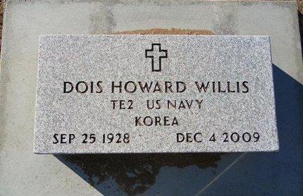 WILLIS, DOIS HOWARD (VETERAN KOR) - Stevens County, Kansas   DOIS HOWARD (VETERAN KOR) WILLIS - Kansas Gravestone Photos