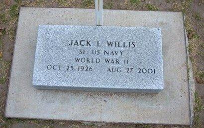 WILLIS, JACK LOWREY   (VETERAN WWII) - Stevens County, Kansas | JACK LOWREY   (VETERAN WWII) WILLIS - Kansas Gravestone Photos