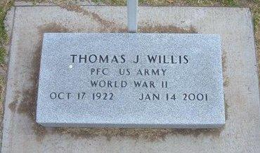 WILLIS, THOMAS JEFFERSON   (VETERAN WWII) - Stevens County, Kansas   THOMAS JEFFERSON   (VETERAN WWII) WILLIS - Kansas Gravestone Photos