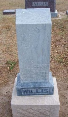 WILLIS, WILLIAM B - Stevens County, Kansas | WILLIAM B WILLIS - Kansas Gravestone Photos