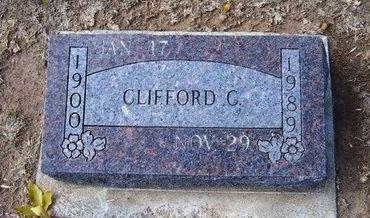 WILSON, CLIFFORD CHARLES - Stevens County, Kansas   CLIFFORD CHARLES WILSON - Kansas Gravestone Photos