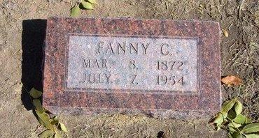 "WILSON, FRANCES CAROLINE ""FANNIE"" - Stevens County, Kansas | FRANCES CAROLINE ""FANNIE"" WILSON - Kansas Gravestone Photos"