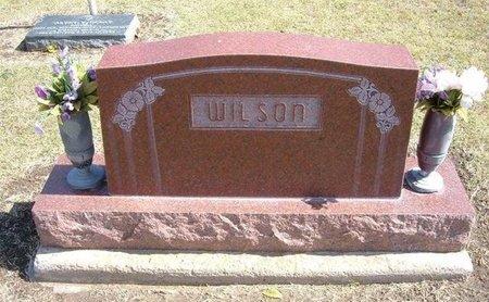 WILSON, FAMILY STONE - Stevens County, Kansas   FAMILY STONE WILSON - Kansas Gravestone Photos