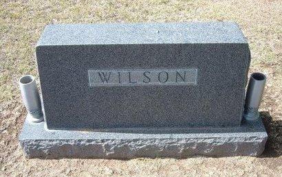 WILSON, FAMILY STONE - Stevens County, Kansas | FAMILY STONE WILSON - Kansas Gravestone Photos