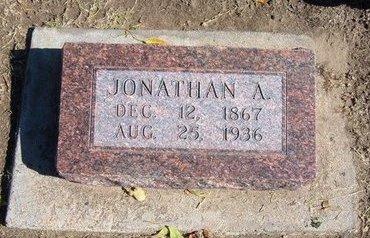 WILSON, JONATHAN ALBERT - Stevens County, Kansas   JONATHAN ALBERT WILSON - Kansas Gravestone Photos
