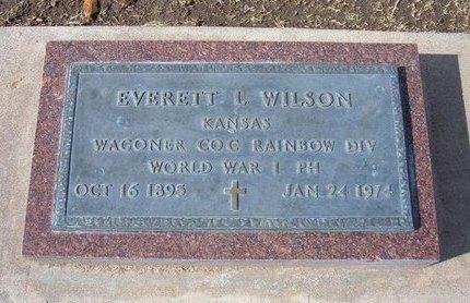 WILSON, EVERETT LEAMON   (VETERAN WWI) - Stevens County, Kansas | EVERETT LEAMON   (VETERAN WWI) WILSON - Kansas Gravestone Photos