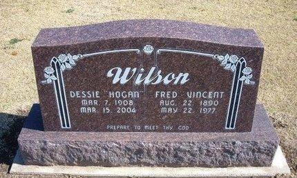 WILSON, DESSIE - Stevens County, Kansas | DESSIE WILSON - Kansas Gravestone Photos