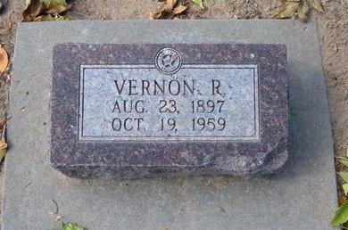 WILSON, VERNON RAYMOND - Stevens County, Kansas | VERNON RAYMOND WILSON - Kansas Gravestone Photos