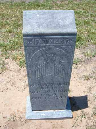 WISHARD, WILLIAM - Stevens County, Kansas | WILLIAM WISHARD - Kansas Gravestone Photos