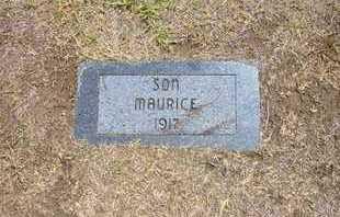 YARBROUGH, MAURICE - Stevens County, Kansas   MAURICE YARBROUGH - Kansas Gravestone Photos
