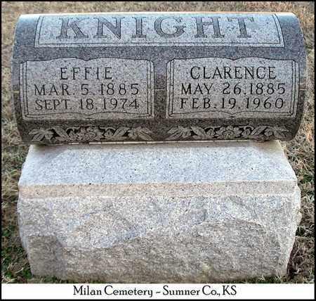 KNIGHT, CLARENCE - Sumner County, Kansas | CLARENCE KNIGHT - Kansas Gravestone Photos