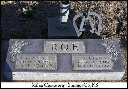 JEFFRIES ROE, V. ALENE - Sumner County, Kansas | V. ALENE JEFFRIES ROE - Kansas Gravestone Photos