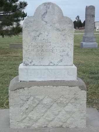 COOVER, EMERY W - Thomas County, Kansas | EMERY W COOVER - Kansas Gravestone Photos