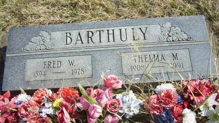 GEHRING BARTHULY, THELMA M - Wabaunsee County, Kansas | THELMA M GEHRING BARTHULY - Kansas Gravestone Photos