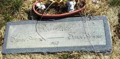 BLOOMFIELD, CAROL ANNE - Wabaunsee County, Kansas | CAROL ANNE BLOOMFIELD - Kansas Gravestone Photos