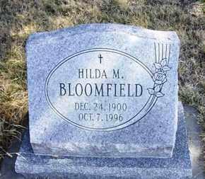 BLOOMFIELD, HILDA M - Wabaunsee County, Kansas | HILDA M BLOOMFIELD - Kansas Gravestone Photos