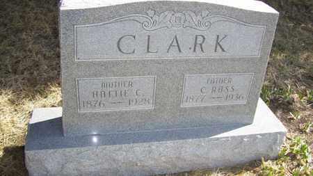 CLARK, HATTIE CHRISTINA - Wabaunsee County, Kansas | HATTIE CHRISTINA CLARK - Kansas Gravestone Photos