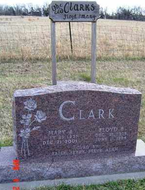 CLARK, MARY A - Wabaunsee County, Kansas | MARY A CLARK - Kansas Gravestone Photos