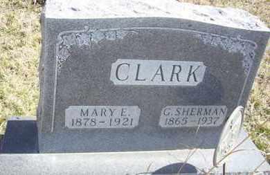 TAYLOR CLARK, MARY ELIZABETH - Wabaunsee County, Kansas | MARY ELIZABETH TAYLOR CLARK - Kansas Gravestone Photos