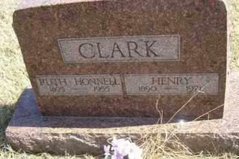 CLARK, RUTH - Wabaunsee County, Kansas | RUTH CLARK - Kansas Gravestone Photos