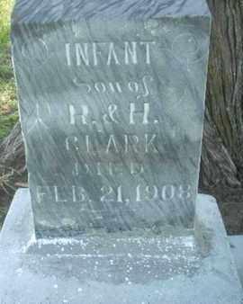 CLARK, INFANT - Wabaunsee County, Kansas | INFANT CLARK - Kansas Gravestone Photos