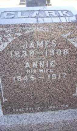 CLARK, ANNIE - Wabaunsee County, Kansas | ANNIE CLARK - Kansas Gravestone Photos