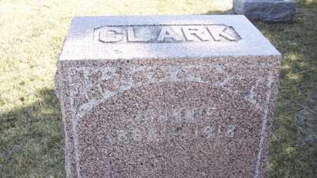 CLARK, JOHNNIE - Wabaunsee County, Kansas | JOHNNIE CLARK - Kansas Gravestone Photos