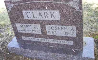 CLARK, MARY ELIZABETH - Wabaunsee County, Kansas   MARY ELIZABETH CLARK - Kansas Gravestone Photos