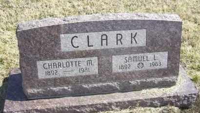 CLARK, CHARLOTTE M - Wabaunsee County, Kansas | CHARLOTTE M CLARK - Kansas Gravestone Photos