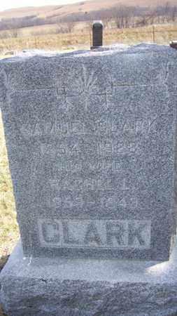 CLARK, SAMUEL - Wabaunsee County, Kansas   SAMUEL CLARK - Kansas Gravestone Photos