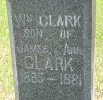 CLARK, WILLIAM - Wabaunsee County, Kansas | WILLIAM CLARK - Kansas Gravestone Photos