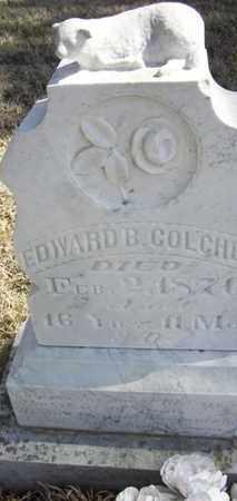 COLCHER, EDWARD  B - Wabaunsee County, Kansas   EDWARD  B COLCHER - Kansas Gravestone Photos