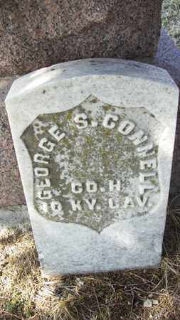 CONNELL, GEORGE S  (VETERAN UNION) - Wabaunsee County, Kansas | GEORGE S  (VETERAN UNION) CONNELL - Kansas Gravestone Photos