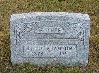 ADAMSON, LILLIE - Wallace County, Kansas | LILLIE ADAMSON - Kansas Gravestone Photos