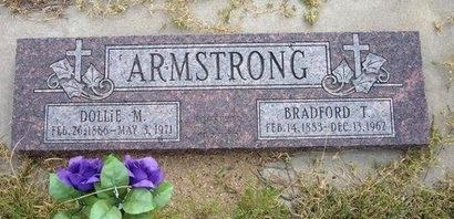 ARMSTRONG, BRADFORD T - Wallace County, Kansas | BRADFORD T ARMSTRONG - Kansas Gravestone Photos