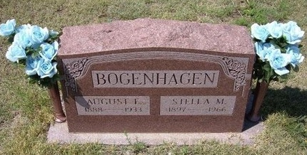 BOGENHAGEN, AUGUST F - Wallace County, Kansas | AUGUST F BOGENHAGEN - Kansas Gravestone Photos