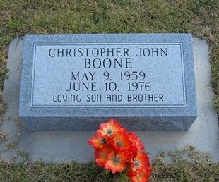 BOONE, CHRISTOPHER JOHN - Wallace County, Kansas | CHRISTOPHER JOHN BOONE - Kansas Gravestone Photos