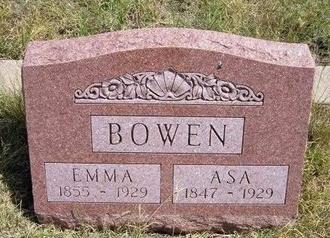 BOWEN, ASA - Wallace County, Kansas | ASA BOWEN - Kansas Gravestone Photos
