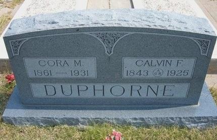 MYERS DUPHORNE, CORA M - Wallace County, Kansas | CORA M MYERS DUPHORNE - Kansas Gravestone Photos