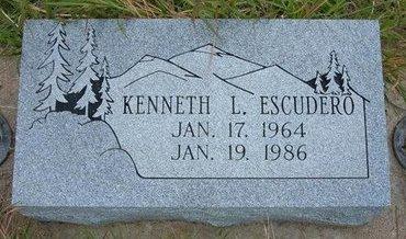 ESCUDERO, KENNETH L - Wallace County, Kansas | KENNETH L ESCUDERO - Kansas Gravestone Photos