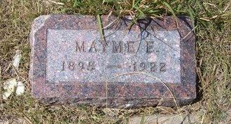 FINLEY, MAYME ELLEN - Wallace County, Kansas | MAYME ELLEN FINLEY - Kansas Gravestone Photos