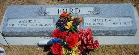 FORD, KATHRYN L - Wallace County, Kansas | KATHRYN L FORD - Kansas Gravestone Photos