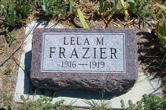 FRAZIER, LELA MARTHA - Wallace County, Kansas | LELA MARTHA FRAZIER - Kansas Gravestone Photos